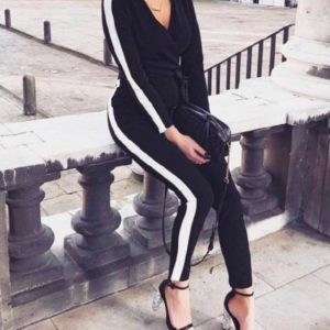 Une combinaison noire pour femme dans votre boutique de prêt à porter de Toulouse