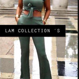 L'ensemble Loane de couleur kaki un vêtement pour femme à Toulouse